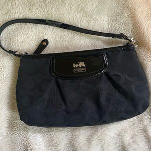 VTG mini coach handbag Y2K